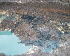 how to clean petroleum contaminated soil
